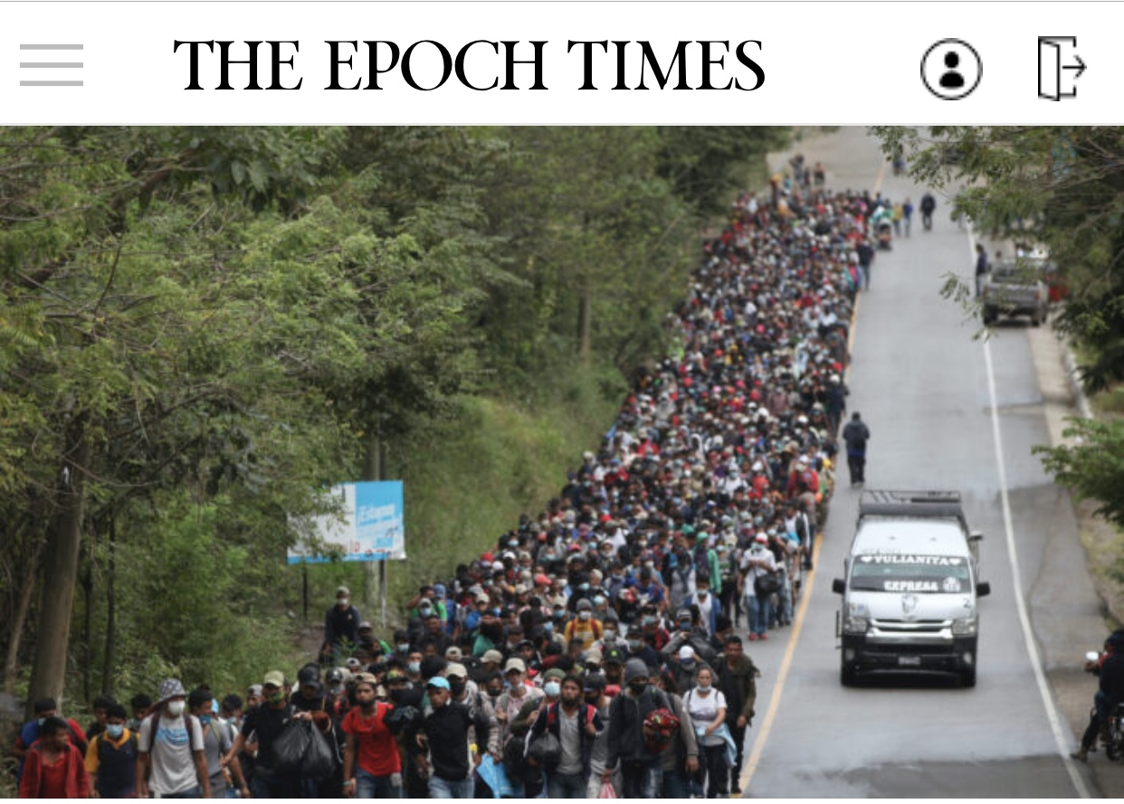 Breaking News Guatemala Tries to Block US-Bound Caravan of 9,000 Honduran Migrants
