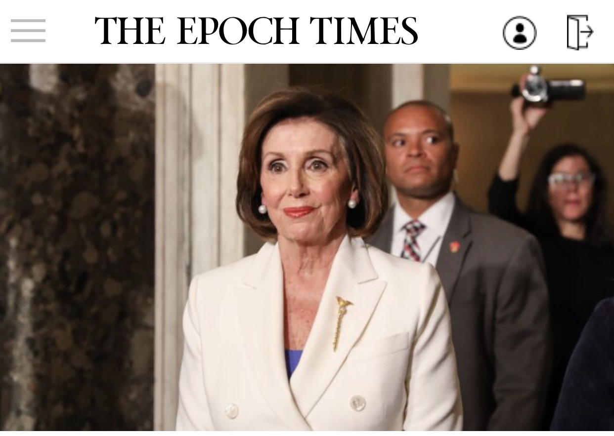 Breaking News Laptop From Pelosi's Office Stolen During Capitol Breach, Spokesman Confirms