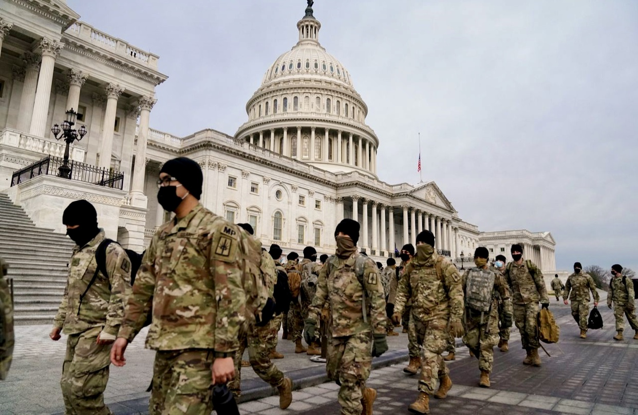 Breaking News National Guard to Send More Than 10,000 Troops to Washington, D.C