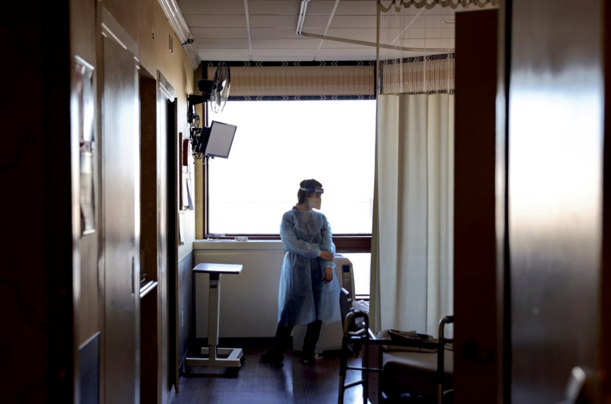 Why Are So Many Health-Care Workers Resisting the COVID Vaccine?