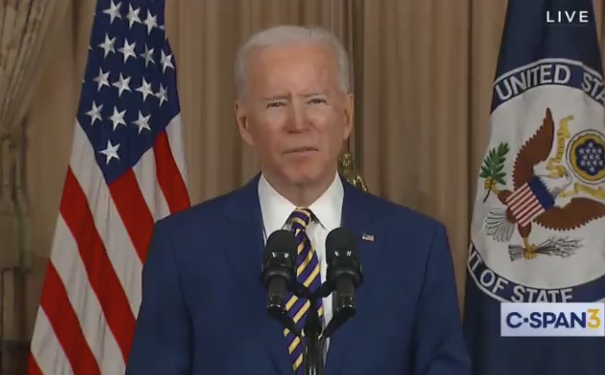 BIDEN on WHAT???: 'I Work With Congress to Make Investments in Research for Transformital Technologies'