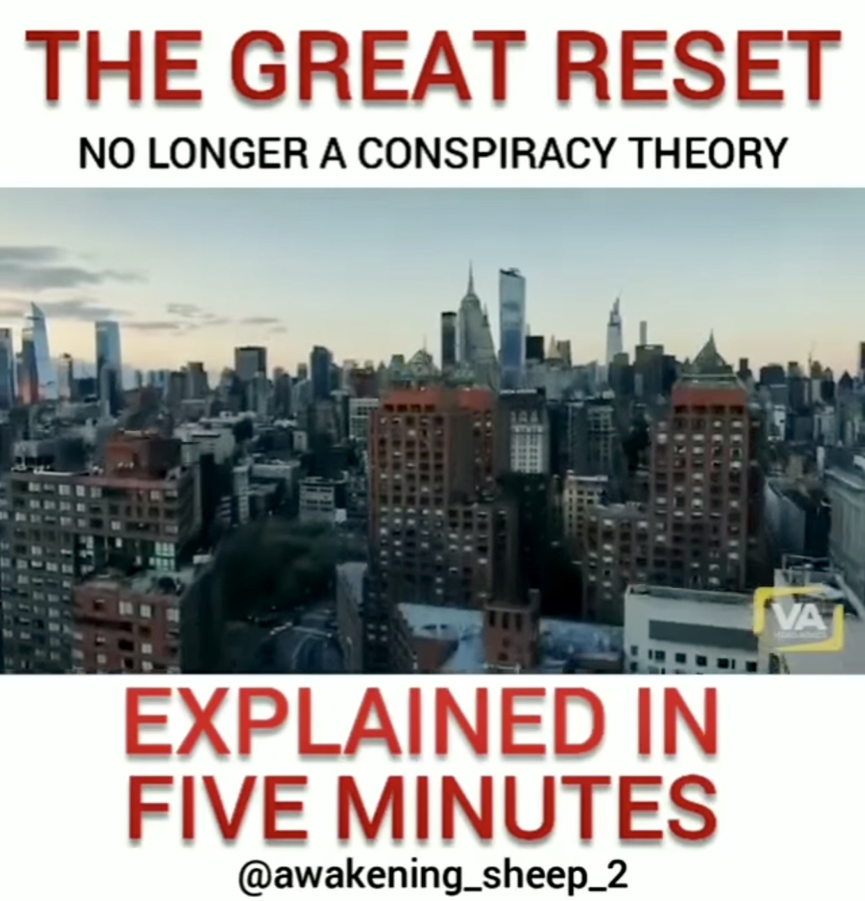 The Great Reset…will our freedoms and rights survive?
