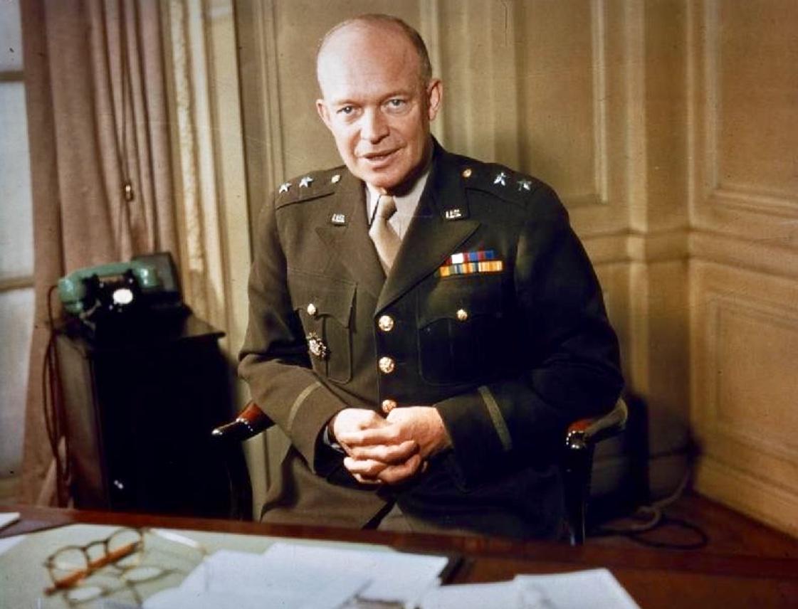 Dwight D. Eisenhower was an avid reader of history