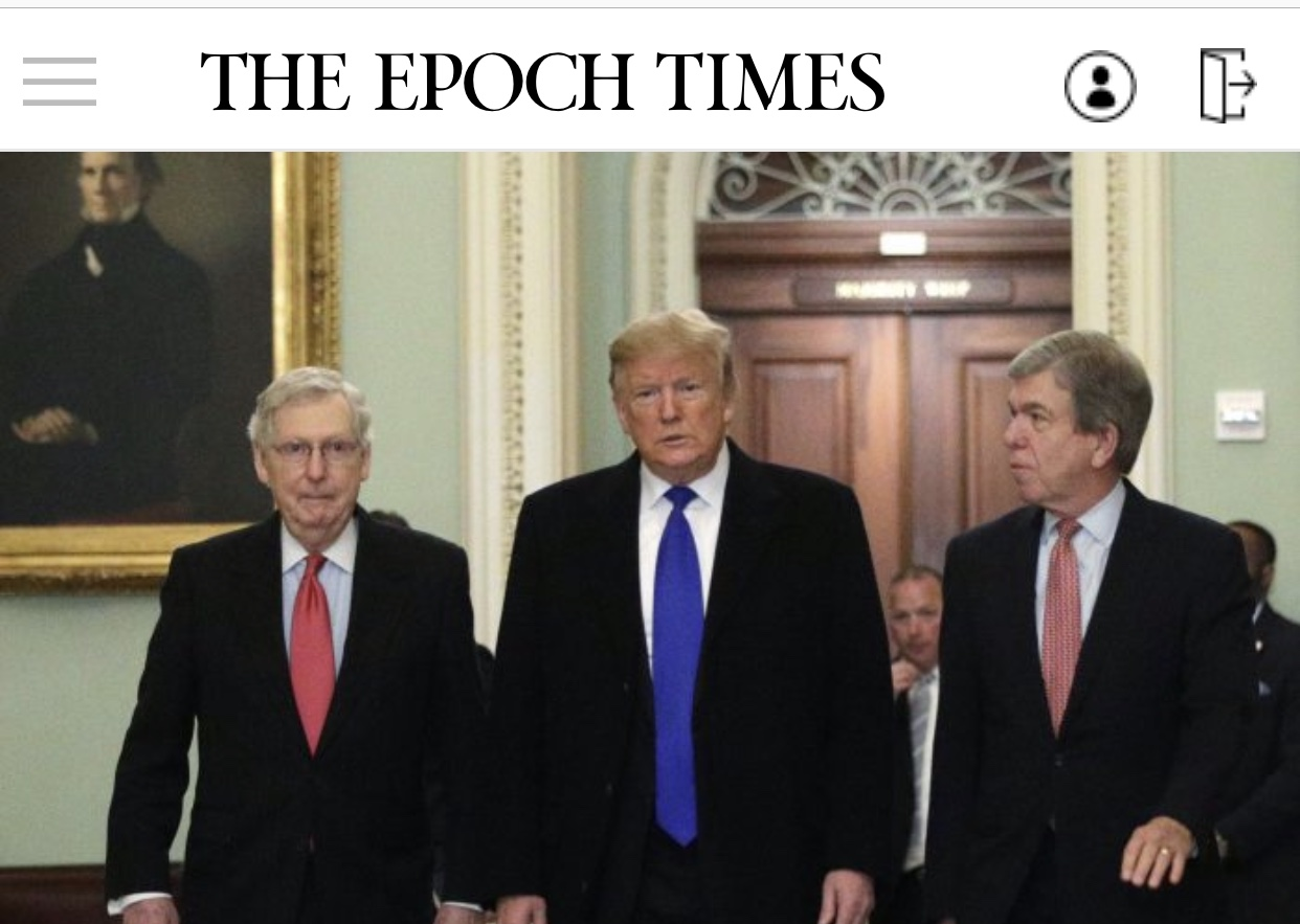 President Trump The 46 President Says GOP Won't Win With McConnell, Plans to Back MAGA Primary Candidates