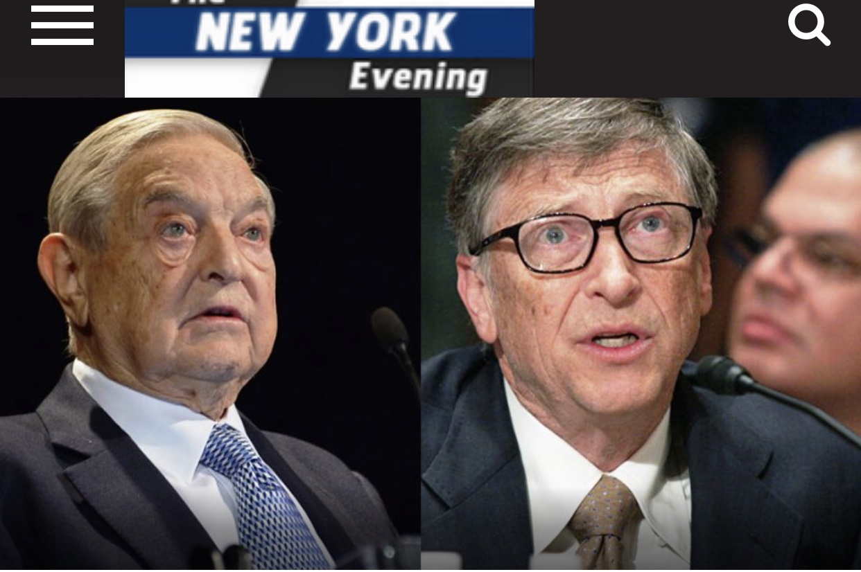 """Breaking News A Peruvian Court Rules That Bill Gates, George Soros Criminally Liable For """"Creating"""" COVID-19 Pandemic"""