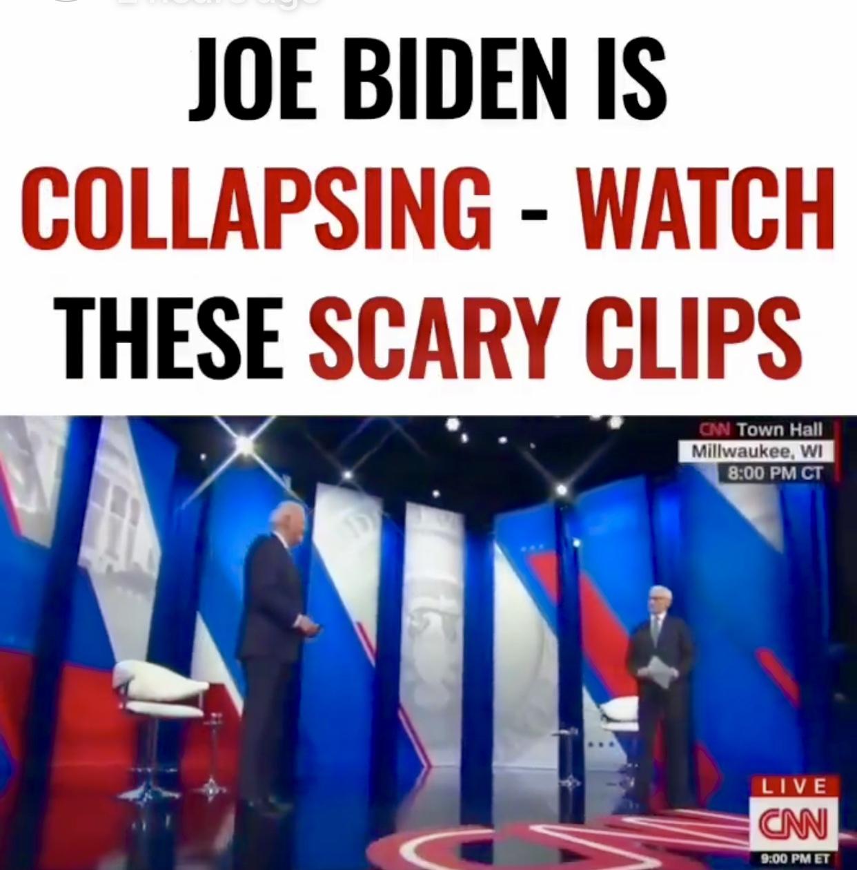 The Imposter Joe Biden Recent Disturbing Gaffes and Memes