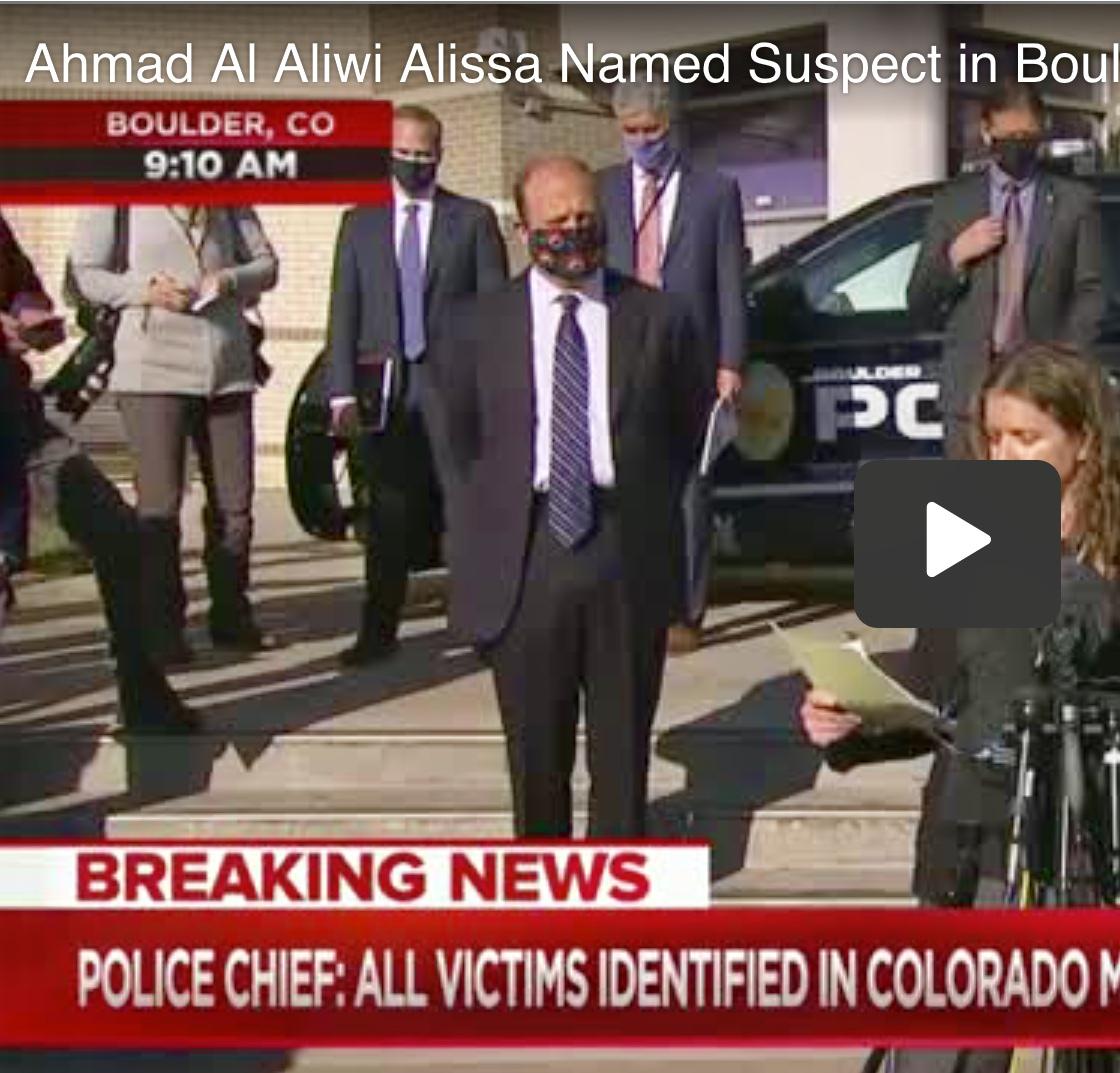 Video Alleged Boulder Colorado shooter Ahmad Al Aliwi Alissa in custody
