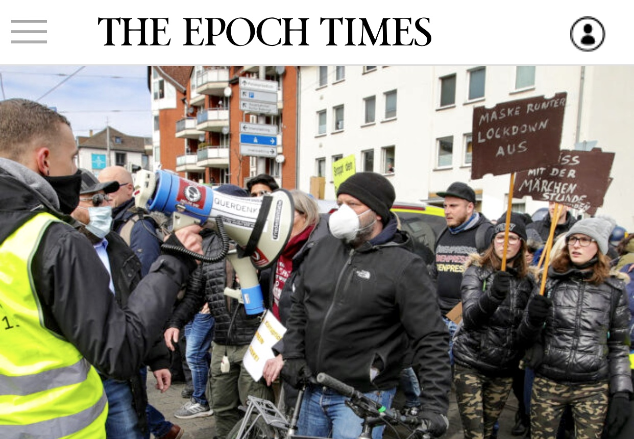 Breaking News Crowds Protest COVID-19 Restrictions Across Europe as Infections Spike