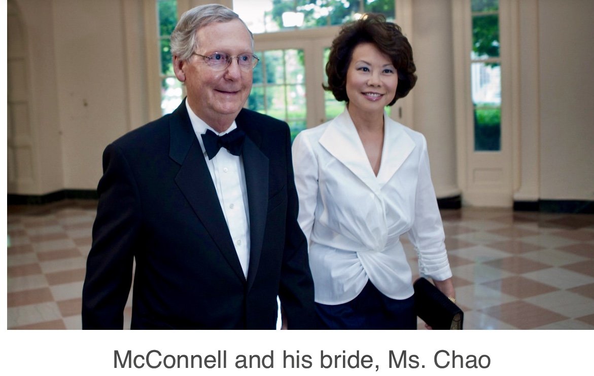 McConnell Is Finished, As CCP Money Hustle Exposed He Scrambles To Get Out Before It Goes Down
