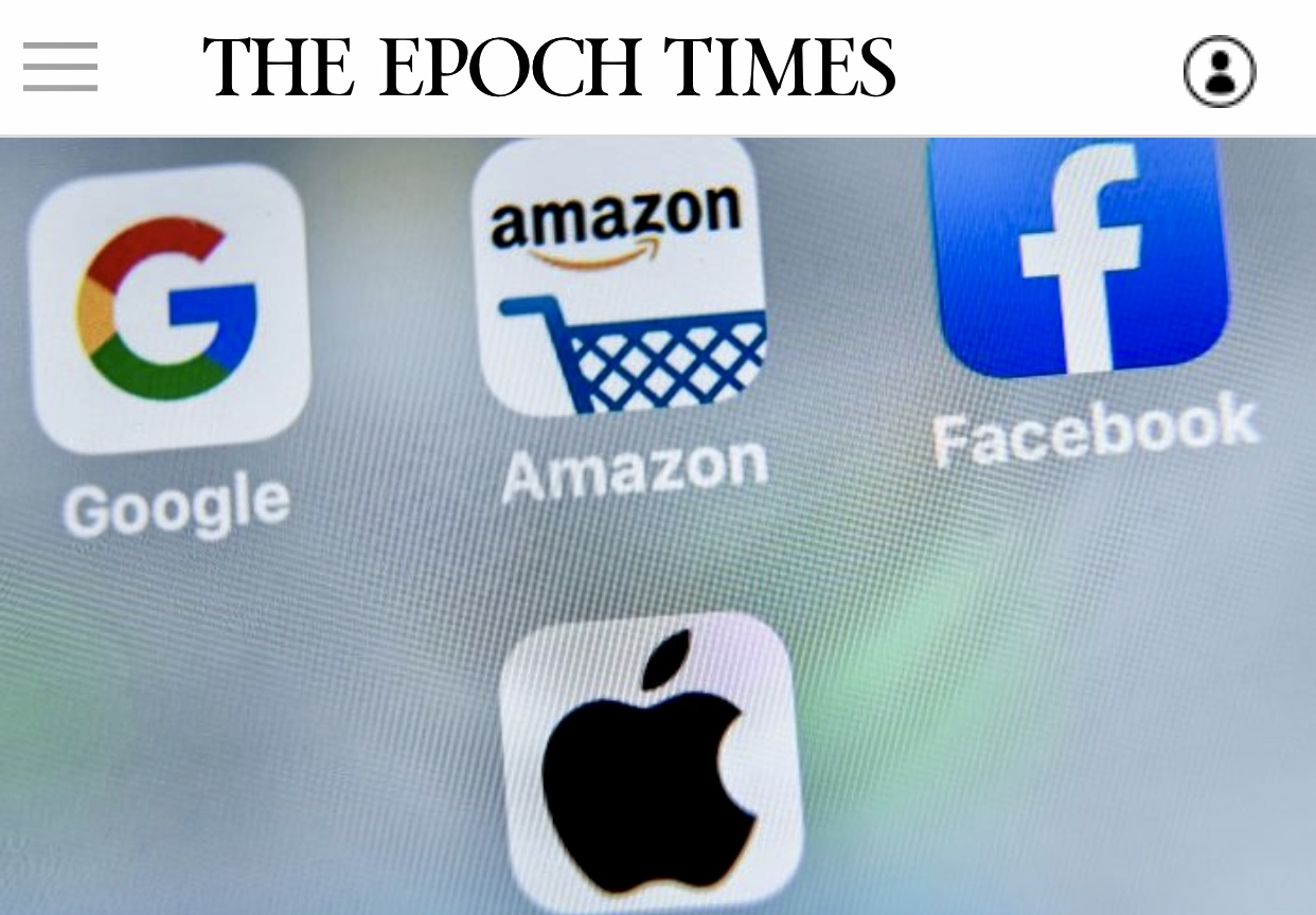 5 Big Tech Companies To Be Investigated for Censorship of Conservative Content