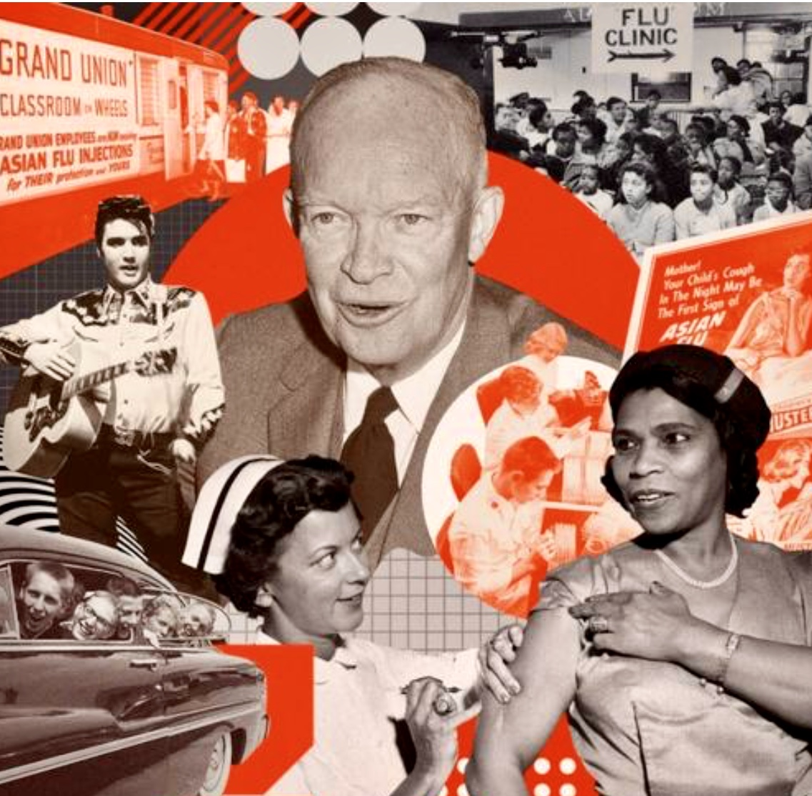 Niall Ferguson: How Ike's 1950s America Beat The 'Asian Flu' With Science & Common Sense