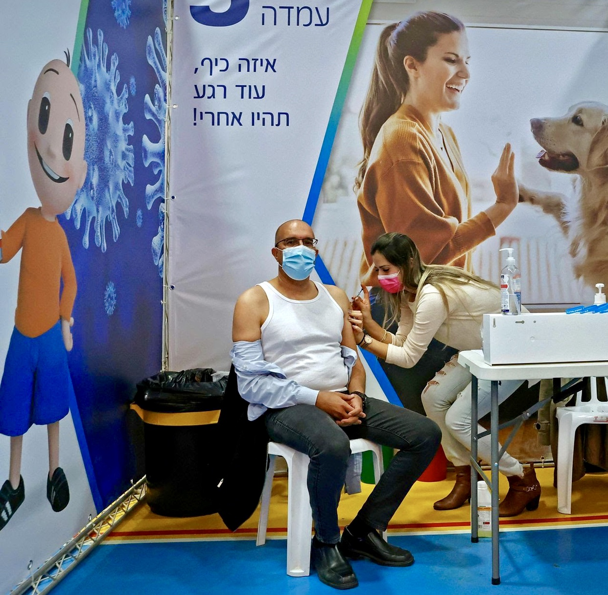 Report from Israel: About Half of Adults Infected With Covid-19 Delta Variant Were Fully Inoculated