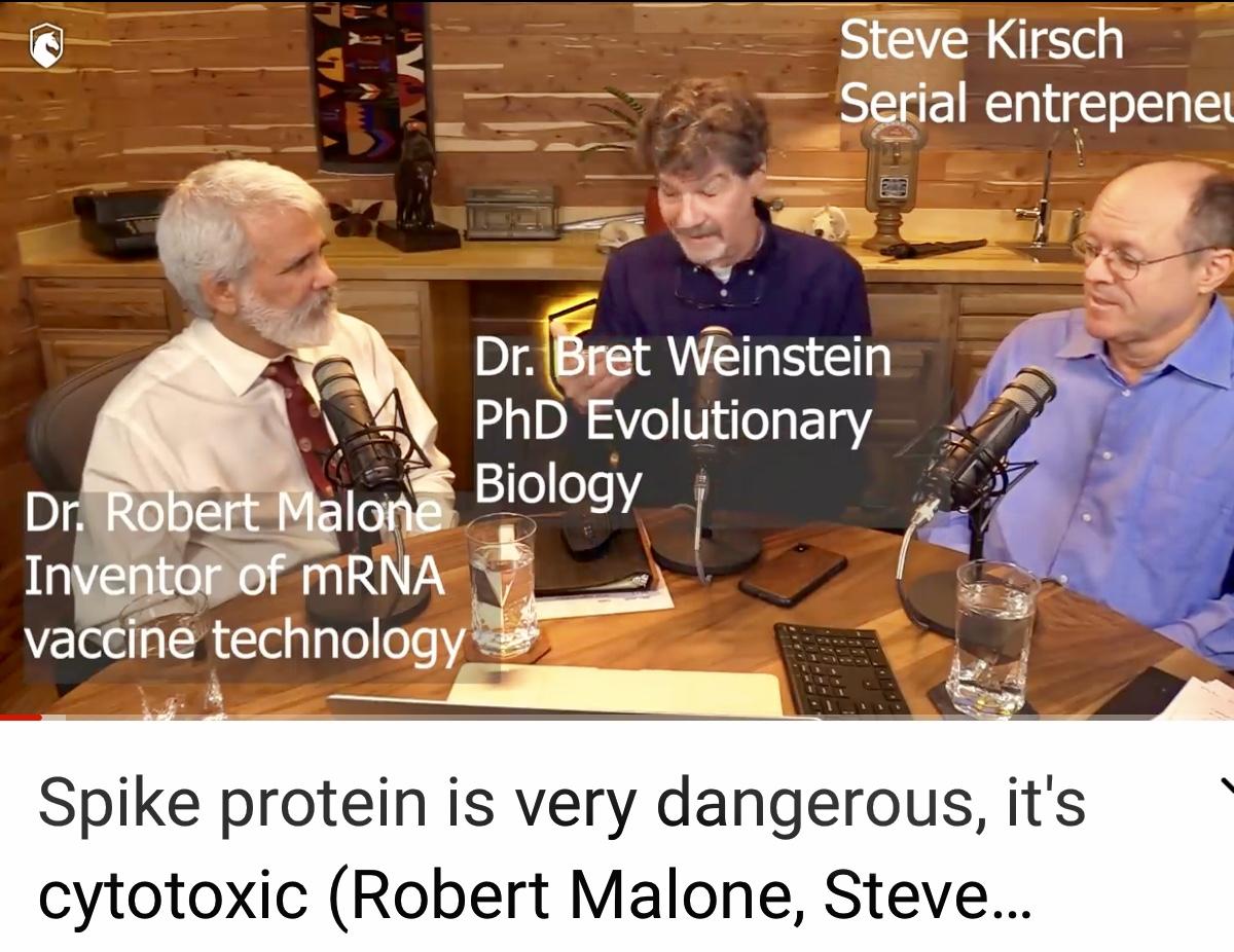 Spike protein is very dangerous, it's cytotoxic